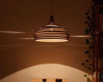 Cardboard lampshade, n6