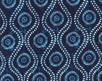 Michael Miller Fabrics - Novi Indigo - DC6276-INDI-D