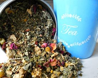 Woman's Balance Herbal Tea - Nutritional Loose Leaf Tea -All Natural Herbal Tea - Healthy Woman's Tea - Cleansing Detoxing Supplemental Tea