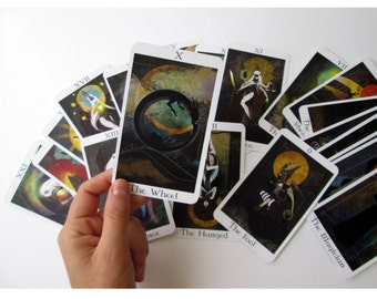 Serpents tarot Major Arcana