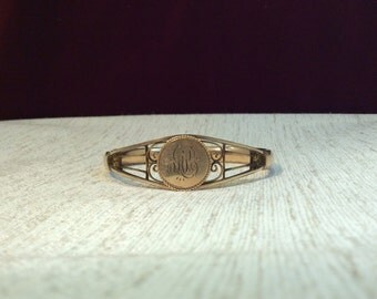 Edwardian gold filled cuff by MH&co