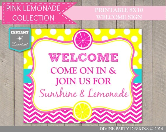photograph relating to Lemonade Signs Printable referred to as Red Lemonade Stand Signs or symptoms Printable