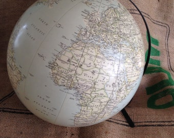 Inflateable Globe Mid Century Stand