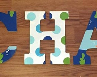 Finding Nemo Wooden Letters