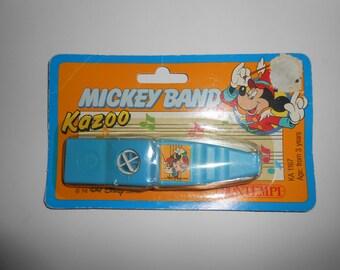 Vintage Disney Bontempi Mickey Band Kazoo Unopened Sealed