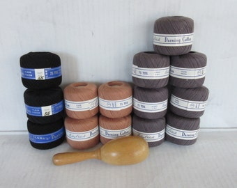 Vintage Darning/Mending Cotton with Tool