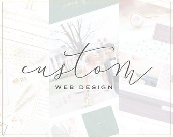 Custom Website Design // Web Design Package