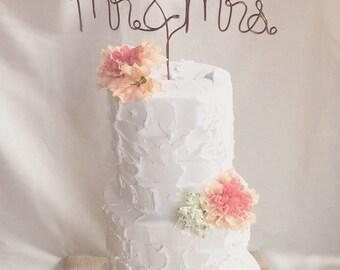Mr. & Mrs. Wedding Cake Topper | Cake Topper