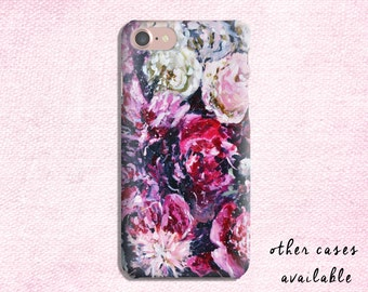 Phone Case, iPhone 7, 6, 5S, 5C, 4S, Samsung Galaxy S3 / S4 / S5 Flower
