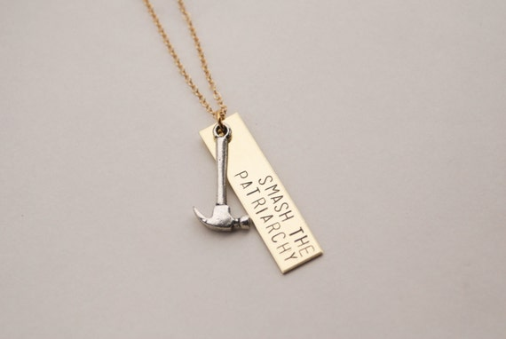 Smash the Patriarchy Necklace | Feminist Gift Guide