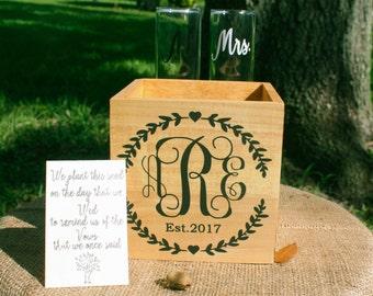 Wedding Unity Ceremony, Unity Ceremony, Sand Ceremony Alternative, Wedding Planter