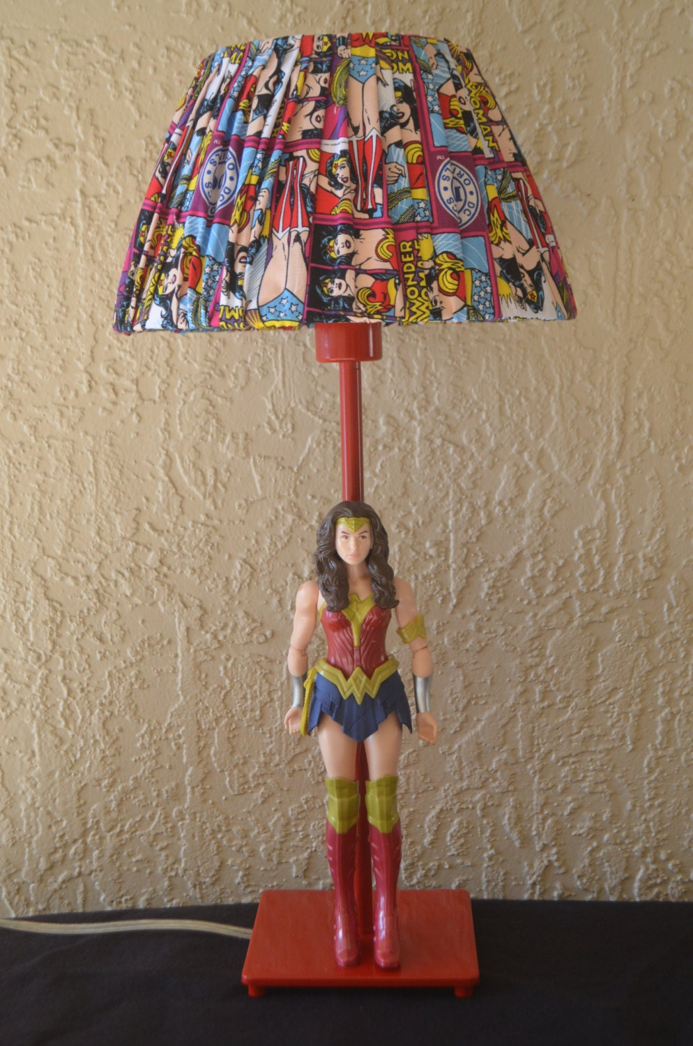 Wonder Woman Lamp By SketchesBySherri On Etsy