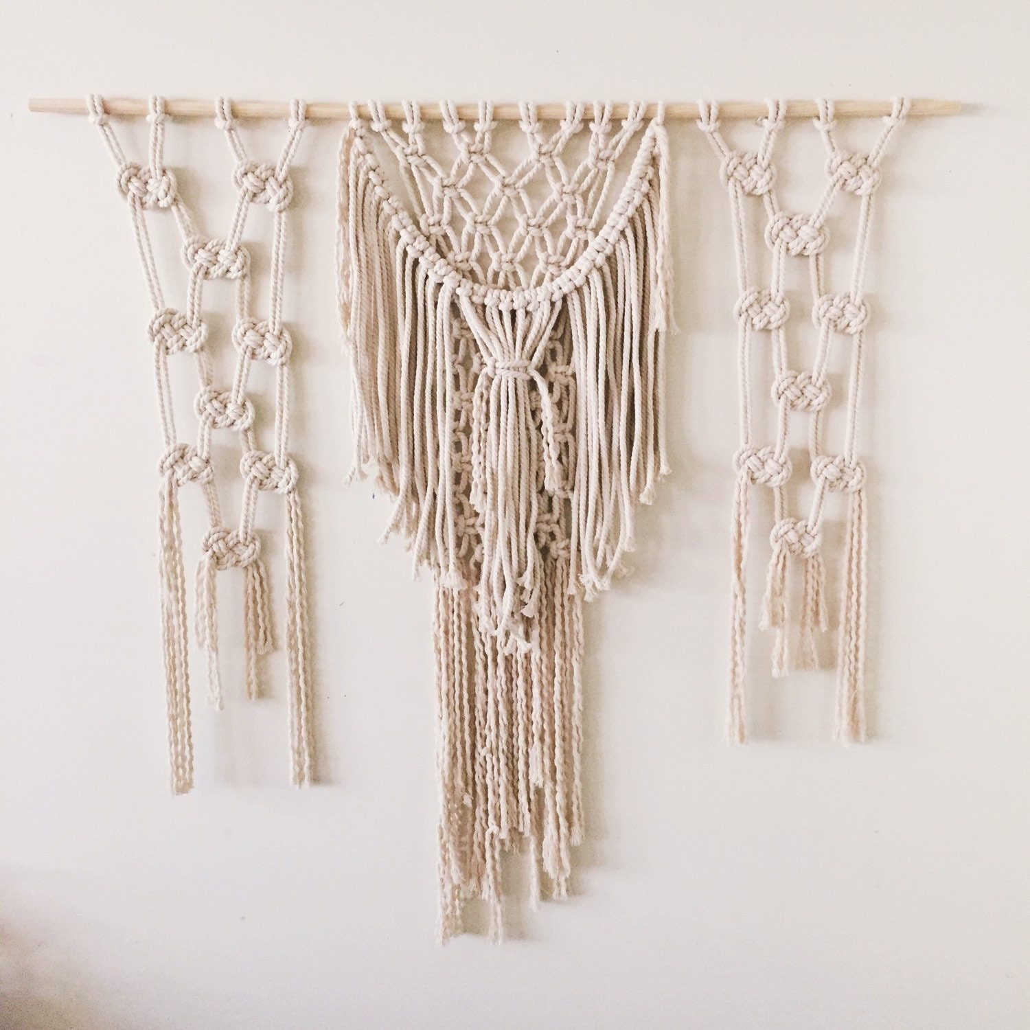 best rope for macrame wall hanging laila macrame rope wall hanging tapestry 4386