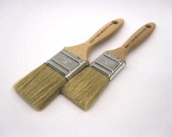 "The ""Better"" Brushes for use with Plaster Paint and Waxes by the Plaster Paint Company * Chalk Paint"