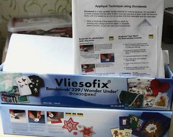 1 Metre Vlieseline® Vilene® Iron on Fusible Bondaweb*®329 Wonder Under*® Vliesofix*®