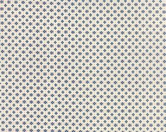 Hometown Girl Ditsy Dark Blue by Pat Sloan for Moda, 1/2 yard, 43066 13