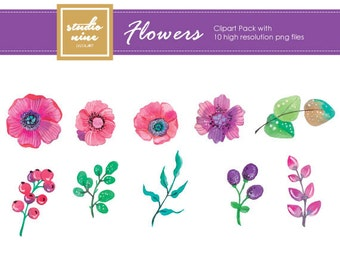 Flower and Plants Clipart