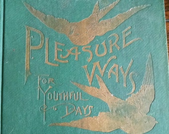Children's book 1890 poems, plays and stories.... Free shipping!!!!