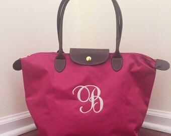 Monogram Bridal Party Gift  - Personalized - Bridal Party Gifts   - Totes - Preppy Tote Bag - Personalized Totes