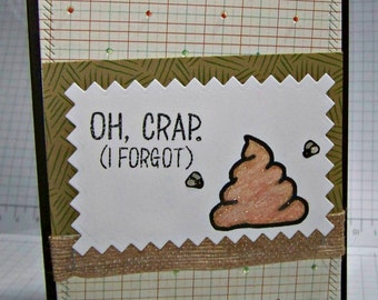 OH CRAP. I forgot... Greeting  Card...