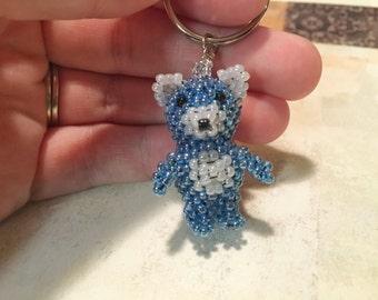 3D Bear Keychain