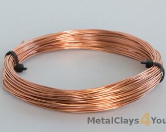 Unplated Copper Soft Round Wire