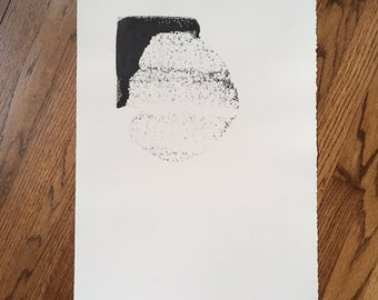 Original B/W monoprint