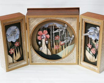 Eleonora Box Art/ paper sculpture