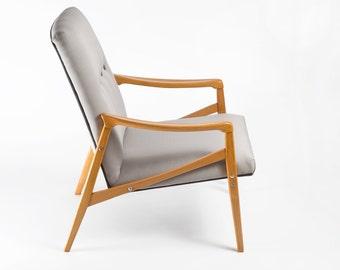Refurbished Danish Mid Century Modern Chair