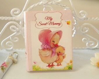 nursery miniature book