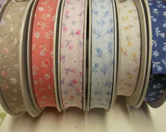 Gorgeous Stephanoise Bias Binding - 3m - 20mm double fold