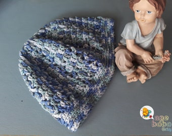 Hat, ready to ship, newborn, baby, girl, boy, blue