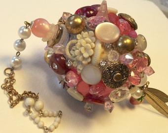 Pink Strawbery Ornament
