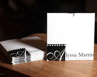 Photographer CD sleeve, Custom, DVD sleeve, Promotional Packaging, Photographer Client Packaging