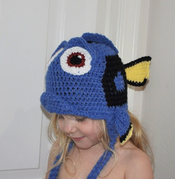 IN STOCK Finding Dory/Nemo Inspired Hat 2-8 Years Salt Water
