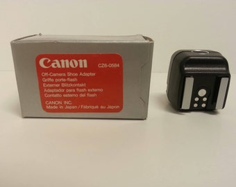 Free Shipping!! Canon CZ6-0584 Off Camera Shoe Adapter