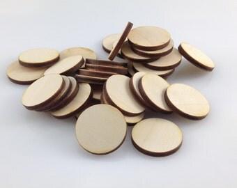 Circular Miniature Bases: 20 mm (set of 100)