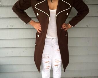 VTG 70s Butte Knit Pea Coat