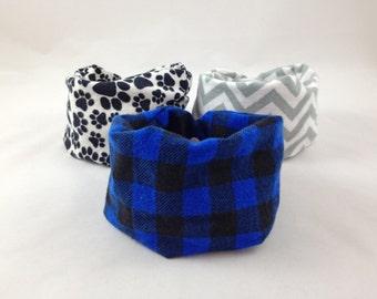 how to make an infinity scarf bib