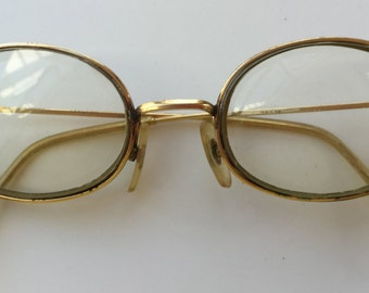 Vintage 14K Gold Filled Wire Rim MOREL  French Made Unisex