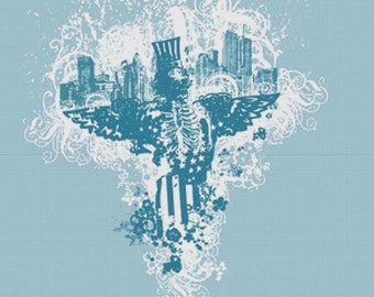 City of Angels PDF Cross Stitch Pattern