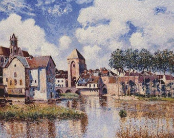 Moret-sur-Loing PDF Cross Stitch Pattern