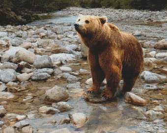 Bear PDF Cross Stitch Pattern