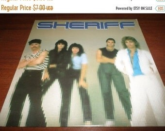 Save 30% Today Vintage 1982 Vinyl LP Record Sheriff Self Titled Debut Excellent Condition 987