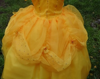 Belle Dress handmade Princesses and this gorgeous dress