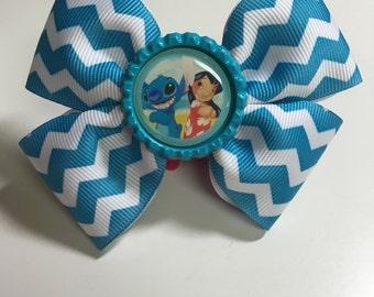 Lilo & Stitch Ribbon Bow