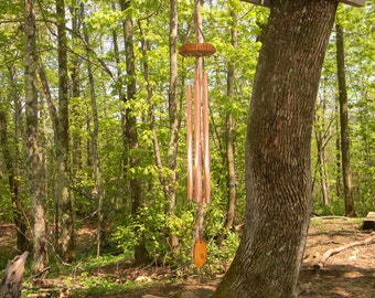 """The """"Faith"""" - All Copper Wind Chime"""