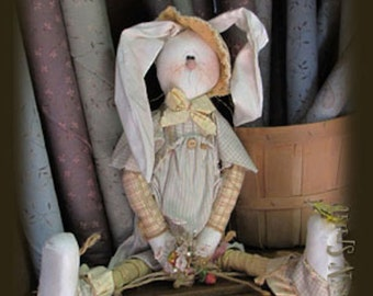 "Pattern: Pete - 13""sitting Bunny"