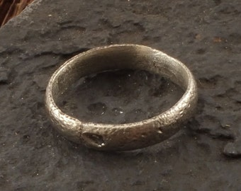 Viking Jewelry, Ancient Viking Ring, Medieval Wedding Band, Medieval Wedding ring, Viking Jewellry C.850-1100 A.D.  Size 10 1/4 (nw63)