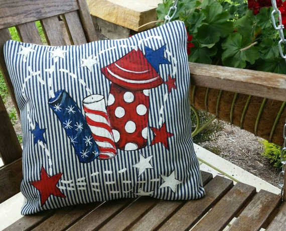 Fourth Of July Fireworks Decorations Patriotic By